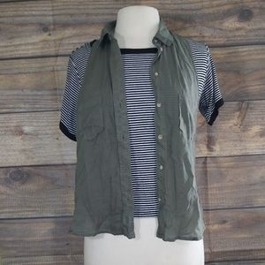 Lot of 2 | Brandy Melville & AEO vest and tee S